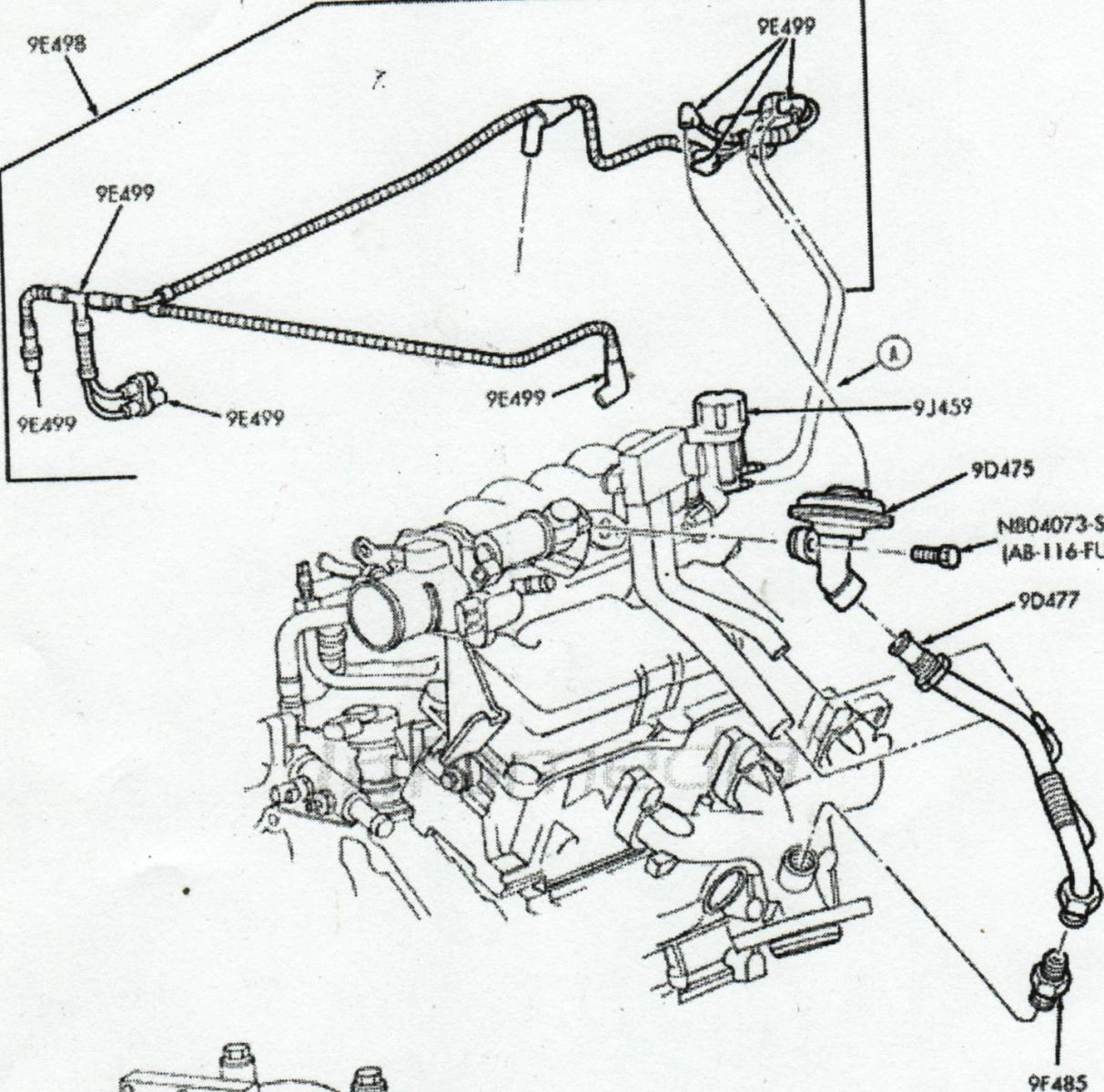 2003 taurus engine diagram
