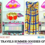 JOIN FASHION TRAVELS x SUMMER GOODIES #GIVEAWAY! (closed)