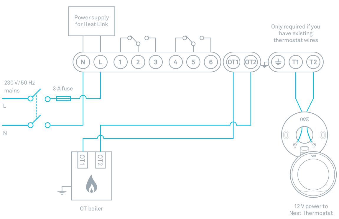 nest heat link wiring diagram