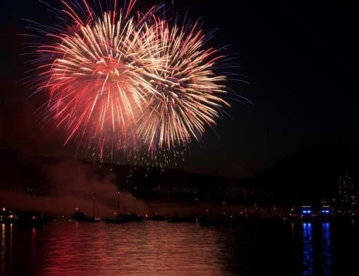 Vancouver fire works