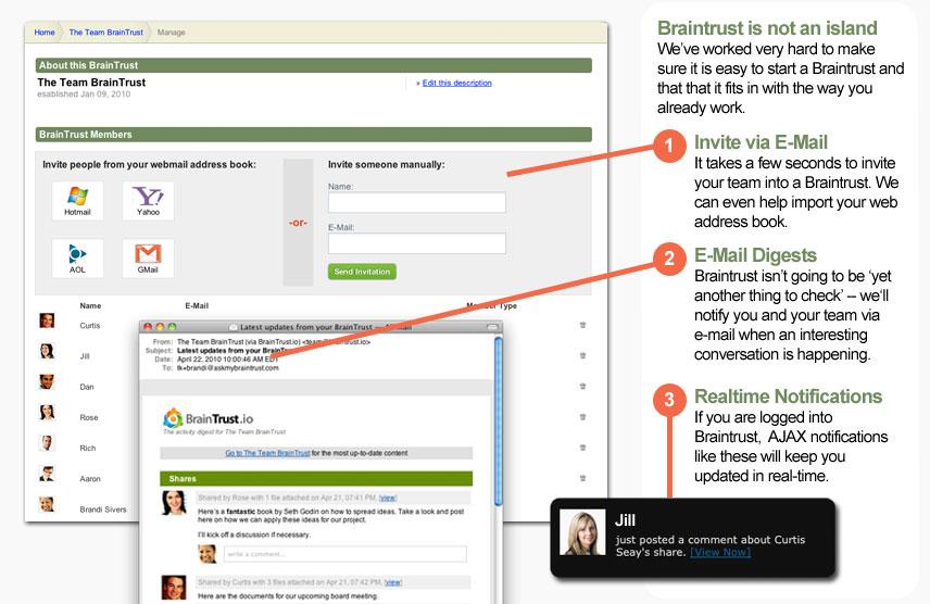 Braintrust Screenshot 1