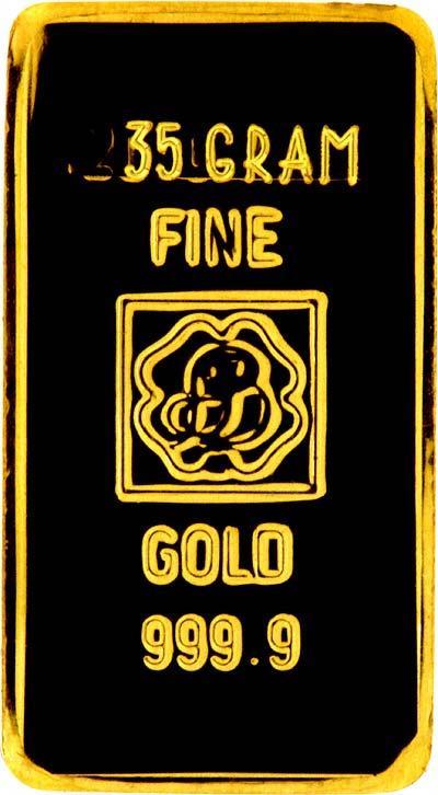 35 gram gold bars