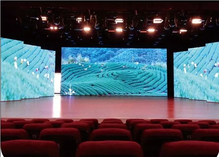 3x3 Multi Screen Video Walls for Conference , Constant Current - multi screen display