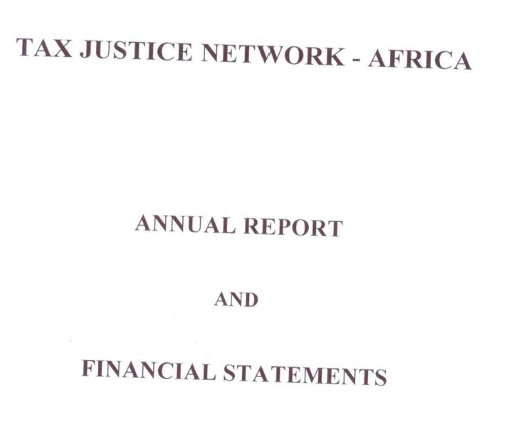 Audit Reports - Tax Justice Network Africa - audit reports