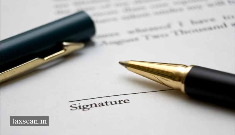 Ex-Director can\u0027t Sign and Verify Appeal Memo filed before Tribunal - how to sign a memo