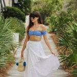 Chic Beach Wear Look