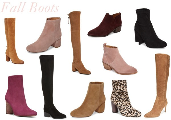 Friday Trends: Fall Boots