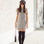 Parisian Chic + Goodnight Macaroon OTK Boots Review