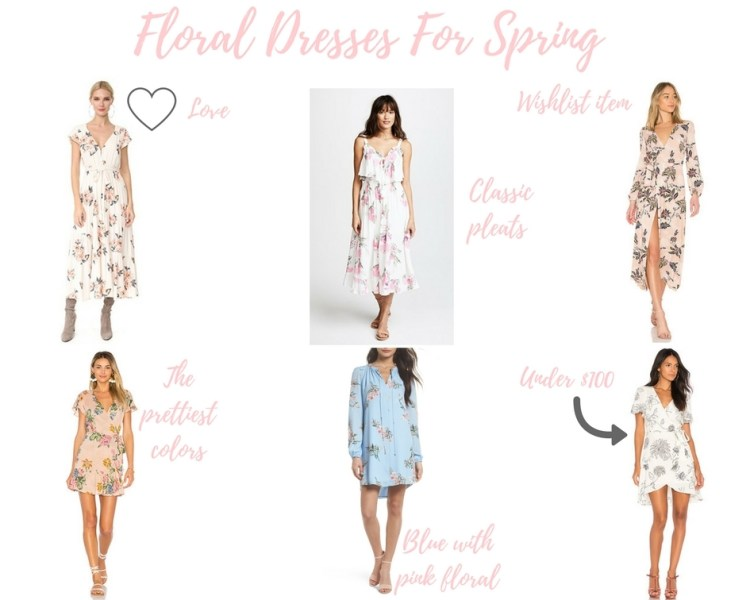 Friday Trends: Floral Dresses For Spring