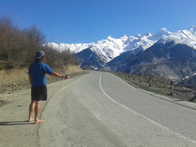 Hitchhiking in Svaneti, hitchhiking in Georgia