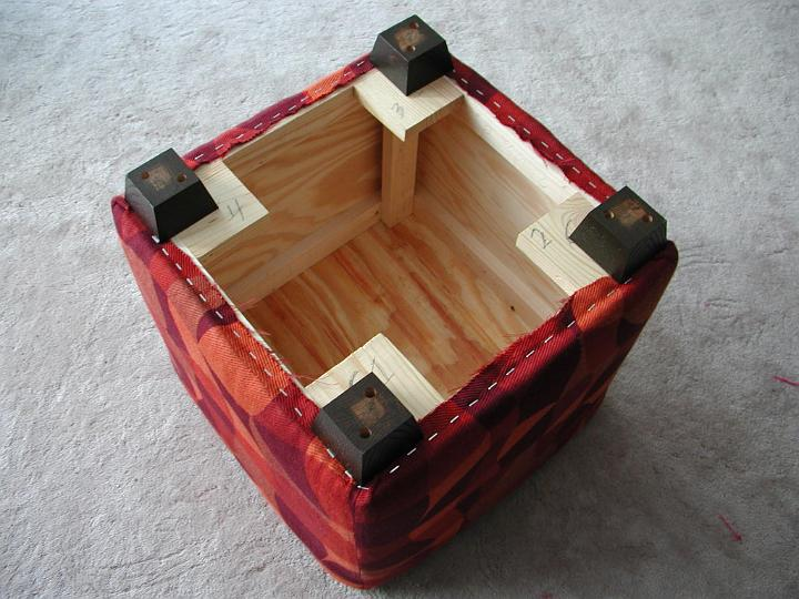 Superior How To Build An Ottoman Part - 5: Superior How To Build