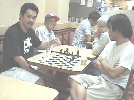 The Filipino Chess Club of Montreal, at its former home, a Tim Horton's