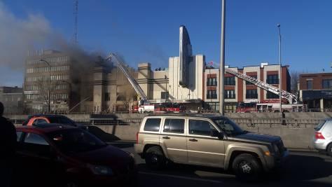 Snowdon Theatre Fire - March 26th 2016