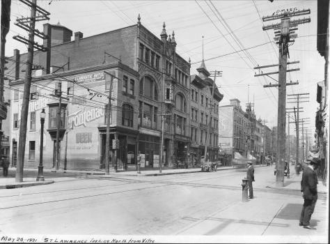 Edifice Robillard, 1921