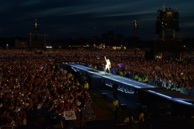 65,000 Swifities attended the Hyde Park concert of the 1989 World Tour