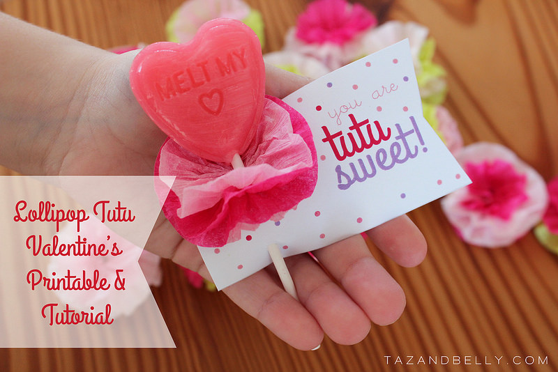 Holiday Hop Valentine\u0027s Day Printables - Taz and Belly