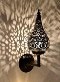 Moroccan Wall Sconce  Stalactita  Tazi Designs