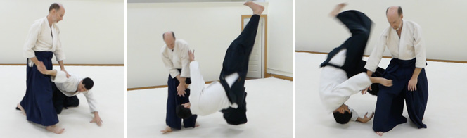 Stephen Koehler, shodan, teaches morning classes. Steve began studying aikido in 1979 under Walter Muryasz in San Diego, CA. After a long break, he joined TCAC in 2007, and received his shodan in 2017. Steve is intrigued by the ideas that less can be more and that strength comes from relaxation and proper form.