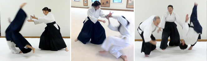 Vickie Selep, nidan, teaches youth classes.
