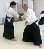 Ryosuke (nage) and Pete (uke)