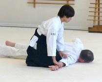Fumika (nage) and Jay (uke)