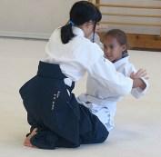 Kanako (nage) and Raven (uke)