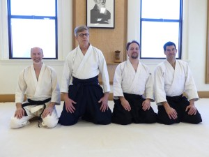Congrats to our newly minted shodan! SteveK, DonN, MichaelE, and MikeN