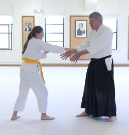 Claire and Sensei Jerry