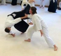 Kat throws George