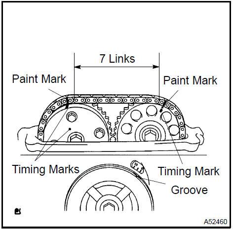 Toyota Camry Valve clearance (2AZ−FE) - Engine mechanical