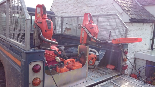 Saw Mate Chainsaw Storage Tcf Engineering