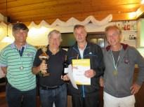 Sieger Herren 60 Landkreismeisterschaft Ebersberg 2015