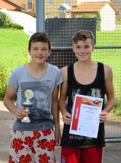 Sieger Junioren U18 Clubmeisterschaft TC Topspin Grafing Ebersberg 2016
