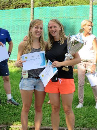 Sieger Damen Clubmeisterschaft TC Topspin Grafing Ebersberg 2016