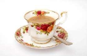 red teacup