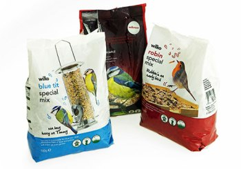 Pet food packaging - Wilko bird food