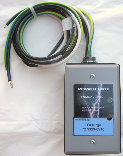 240/H Hardwire 240-Volts AC Parallel Single-Phase 4-Wire