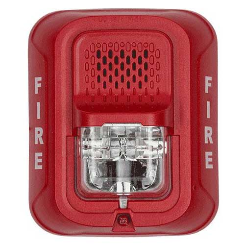 System Sensor P2RL L-Series 2-Wire Red Multi-Candella Horn Strobe