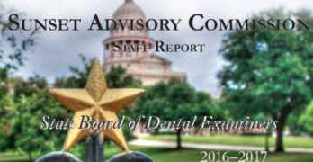 State Board of Dental Examiners Staff Report