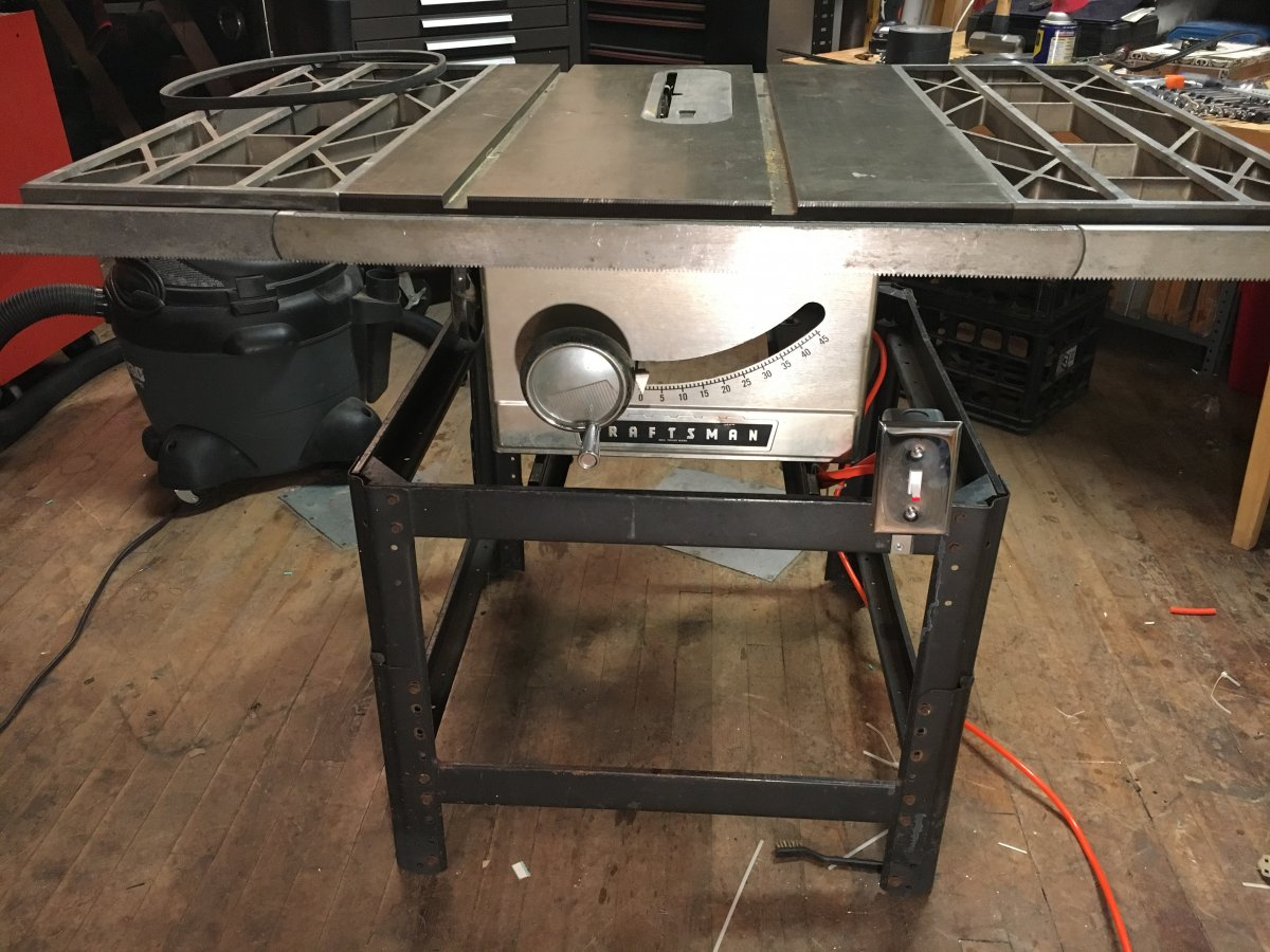 Fine Tuning A Vintage Craftsman Table Saw Telecaster