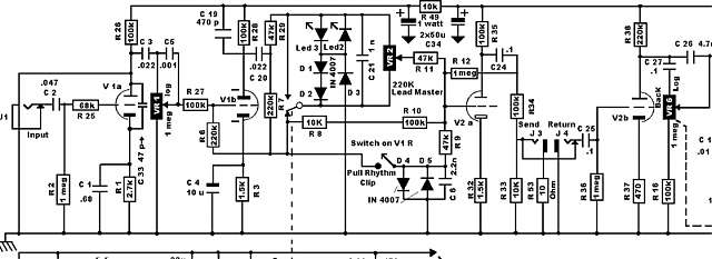marshall jubilee schematic circuit diagram