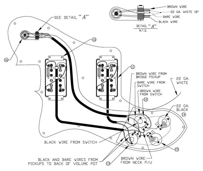 fender squier affinity telecaster wiring diagram