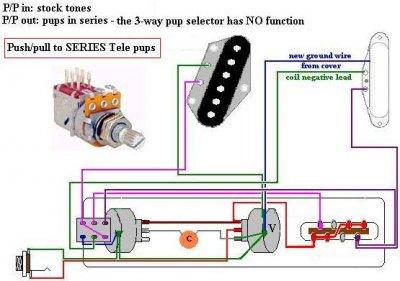4 position switch schema cablage for