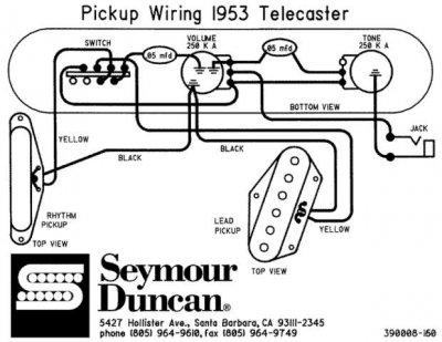 Telecaster Wiring Diagram 1955 Wiring Diagram