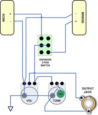 Wiring Diagram Single P90 Wiring Schematic Diagram