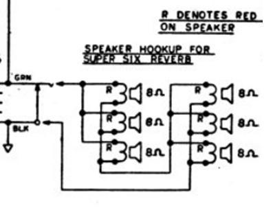 Fender Super Six amp speaker wiring? Telecaster Guitar Forum