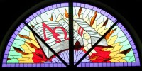 Stained Glass Windows at Racine Bible Church