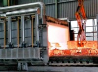 Moving hood reheating furnace for forging | TE-FORGING
