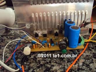 Amplificador Tda Subwoofer Home Theater X Circuito De