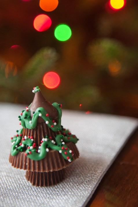 Homemade Chocolate Reeses Tree